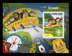 Sierra Leone 2020 Mih. 12502 (Bl.1981) Scouts MNH ** - Sierra Leone (1961-...)
