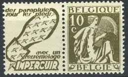 België PU61 ** - Impercuir (zoolleder) - Advertising