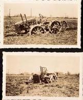 Etats Unis, New Jersey, Tracteur Massey Harris A Bridgeboro, Lot De 6 Photos + Courriers, 1938    (bon Etat) - Luoghi