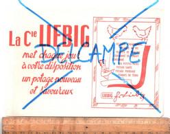 BUVARD : Compagnie LIEBIG Potages Veloutés - L