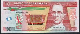 GUATEMALA P123AC 10 QUETZALES 2016   UNC. - Guatemala