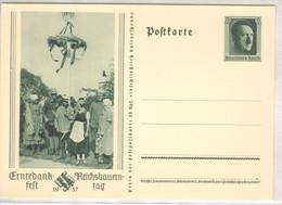 """1937, """" Erntedankfest - Bückeberg """", Propaganda -Ganzsache, P265 - Stamped Stationery"""