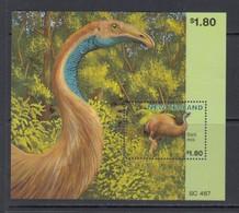 """1996 New Zealand Extinct Birds """"Giant Moa""""  Souvenir Sheet  MNH - Ongebruikt"""