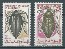 Mauritanie YT N°276-278 Insectes Oblitéré ° - Mauritania (1960-...)