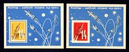 ALBANIE - 1962 - Yvert 2 BF N°6D Dentelé & ND  NEUFS ** LUXE/MNH - Véhicule Cosmique - Albania