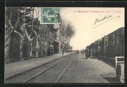 CPA Martres-Tolosane, La Gare - Ohne Zuordnung