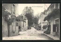 CPA Vayrac, Avenue De La Gare, Vue De La Rue - Vayrac