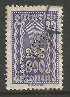 AUSTRIA. 800K PERFIN STYRIA USED - Used Stamps