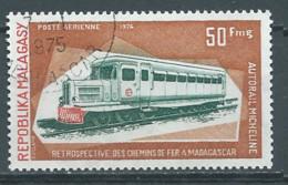 Madagascar Poste Aérienne YT N°139 Autorail Micheline Oblitéré ° - Madagascar (1960-...)