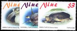 Niue 2001 Turtles Unmounted Mint. - Niue