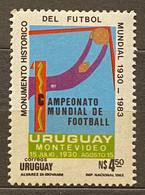URUGUAY - I CAMPEONATO MUNDIAL DE FUTBOL / I SOCCER WORLD CHAMPIONSHIP - SELLO NUEVO / MNH STAMP - 1930 – Uruguay