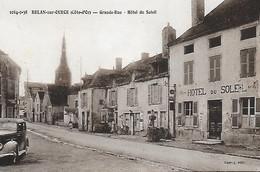 21)  BELAN Sur OURCE  -  Grande Rue  Hotel Du Soleil - Autres Communes