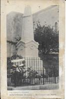 "BOUVIERES "" Monument Aux Morts , Infime Pli ""  N°4122 - Ohne Zuordnung"