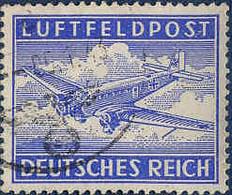 Allemagne FM Obl Yv:1 Mi:1 Luftfeldpost Junker Ju52 (cachet Rond) - Usados