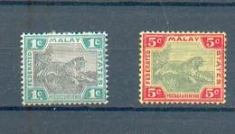 B 208 - MALACCA  - YT 15*-18* - Federated Malay States