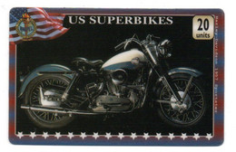 US Superbikes Moto Motorbike  Télécarte Phonecard Japon (D 1056) - Moto