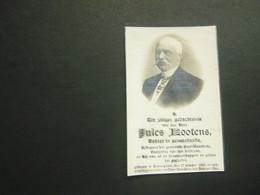 Doodsprentje ( 3680 )   Dokter Schepen Lootens  - Oostrozebeke   Dentergem  1911 - Avvisi Di Necrologio