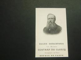 Doodsprentje ( 3681 )   De Clercq / De Paepe   - Wontergem   Deinze  1910 - Avvisi Di Necrologio