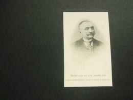 Doodsprentje ( 3687 )  Barbier / Werbrouck  -  Zwevezele   1908 - Avvisi Di Necrologio