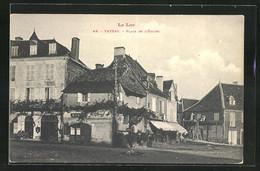 CPA Vayrac, Place De L`Église - Vayrac