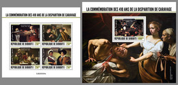 DJIBOUTI 2020 MNH Caravaggio Painter Maler Peintre M/S+S/S - OFFICIAL ISSUE - DHQ2044 - Other