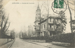 10223 CPA Garches - Avenue De Lorraine - Garches