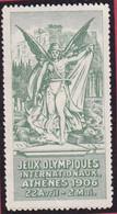 VIGNETTE  JEUX OLYMPIQUES  ATHENES 1906 22 Avril Au 2 Mai  T43 - Sports