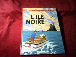HERGE  / LES AVENTURES DE TINTIN  °  L'ile Noire - Hergé