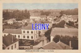 CPSM 9X14 De CHATILLON SUR LOIRE (45) - Les ECOLES  -1951  - - Chatillon Sur Loire