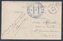 Détachement Du 86e Régiment D'Infanterie Brioude Haute Loire 1916 > St Germain Lembron CP Brioude Vue Générale - Oorlog 1914-18
