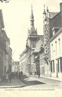 Hasselt:  Rue Lombard Et Hôtel Du Gouvernement - Hasselt