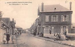 Saint  Crépin Ibouvillers        60     Rue D'Ibouvillers . La  Poste           (voir Scan) - Altri Comuni