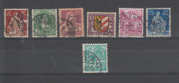 SUISSE - LOT DE TIMBRES PERFORES - PERFIN STAMPS - Gezähnt (perforiert)