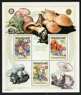 SALE  Guinea 2002 Mi. 4023A-4025A Bl. 795A-797A  Mushrooms  MNH - Mushrooms