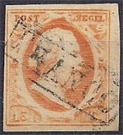 Pays-Bas – Netherlands -  N°3 Bien Margé – Oblitéré/used - Used Stamps