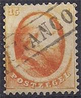 Pays-Bas – Netherlands -  N°6 Dentelé – Oblitéré/used - Used Stamps
