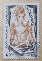 """FRANCE 2020 """"LA GRAVURE"""" ISSU DU BLOC - OBLITERE 1er JOUR 26.06.2020 - Used Stamps"""