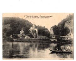 MARCHE LES DAMES - Château Et Passsage D'eau - 1924 - Groyne - Namur