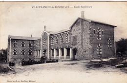 12 - Aveyron -  VILLEFRANCHE De ROUERGUE - Ecole Superieure - Villefranche De Rouergue