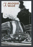 België 4445 ON - De Wereld Van De Trein - Le Monde Du Train - François Schuiten - Imperforates