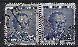Chile  1956  Gen. R. Freier (o)  Mi.508 X+Y - Chile