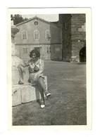 "10412""GIOVANE DONNA A TRIESTE-S.GIUSTO-7 LUGLIO 1930"" VERA FOTO A. ZAMBERLAN-TRIESTE - Personnes Anonymes"