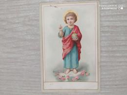 Santino Bambin Gesù - Devotieprenten