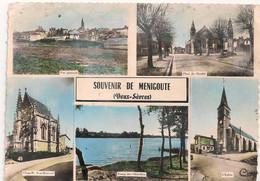 Cpm 79 Ménigoute Souvenir - Sonstige Gemeinden