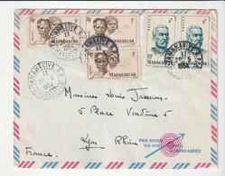 Lettre  Madagascar / Tananarive,1954 - Briefe U. Dokumente