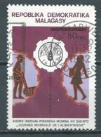 Madagascar YT N°668 Journée Mondiale De L'alimentation Oblitéré ° - Madagascar (1960-...)