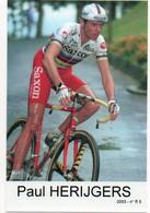 CYCLISME  TOUR DE FRANCE   CP DE JONCKHEERE  PAUL  HERIJGERS - Radsport
