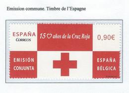 COB  4380  (MNH) + (°)  Emission Commune - Timbre D'Espagne - Ongebruikt