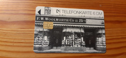 Phonecard Germany K 978 08.93 Woolworth 3.000 Ex. - K-Series : Série Clients
