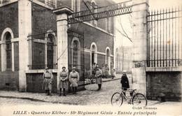 Thematiques 59 Nord Lille Quartier Klèbert 18 E Régiment Génie Entrée Principale - Lille
